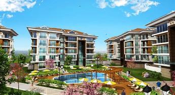 Rose Garden Beykent'te 250 bin TL'ye 2 oda 1 salon!