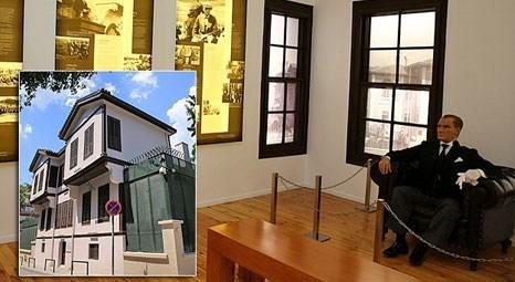 Selanik'teki Atatürk'ün doğduğu ev restorasyondan sonra ziyarete açıldı!