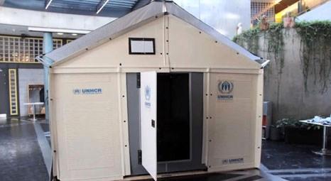 IKEA 4 saat içinde kurulabilen mülteci evleri geliştirdi!