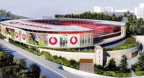 Beşiktaş'ın yeni stadının adı belli oldu: Vodafone Arena!
