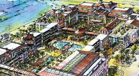 İzmir Mavi Bahçe AVM 2014 yılında açılacak!