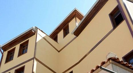 Ankara Kalesi'ndeki Bursa Evi'nin inşaatında sona gelindi!