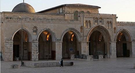 Mescid-i Aksa'nın batı duvarı yakınında büyük bir çökme oldu!