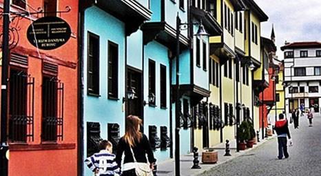 Tarihi Odunpazarı evlerine 4 milyon turist bekleniyor!