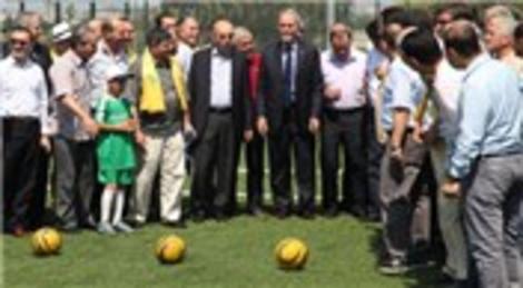 Bursa'da Adalet Spor Tesisleri, törenle hizmete açıldı!