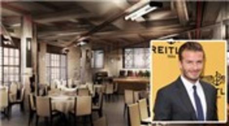 David Beckham Londra'da restoran cafe açıyor!