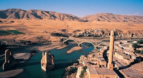 TOKİ Hasankeyf'e köprü yaptırıyor!
