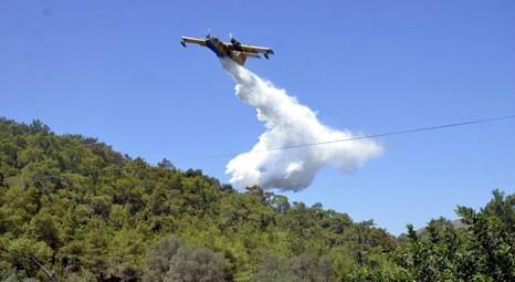 Bodrum'daki yangınında 5 dönümlük alan zarar gördü!