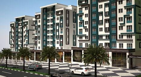 Rüya Prestij Residence'ta 1+1 balkonlu daireler satışa açıldı!