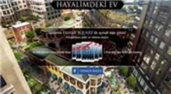 Emaar Square'de gezdiğin eve hayatını yerleştir iPad kazan!