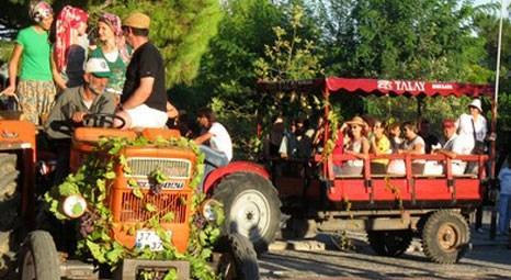 Bozcaada Kültür Sanat ve Bağbozumu Festivali yapıldı!