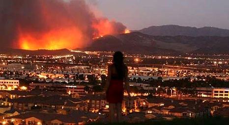 California'da kontrol altına alınamayan yangın dördüncü haftasına girdi!