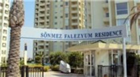 Antalya Sönmez Falezyum Residence'ta icradan satılık 4 daire! 1 milyon 100 bin TL'ye!