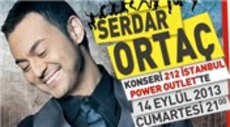 Serdar Ortaç 212 İstanbul Power Outlet'de konser verecek!