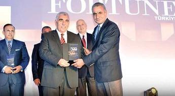 İhlas Holding'e Fortune 500 Listesi'ndeki yüksek performansı ödül getirdi!