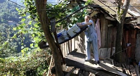Rize'de ilkel teleferik ile Evde Sağlık Hizmetleri veriliyor!