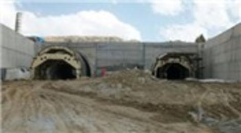 Habib Soluk, Darende Karahan Tüneli'ni denetledi!