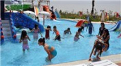 Mardinli iş kadını Gülnaz Abdulsametoğlu, Kızıltepe'de aquapark açtı!