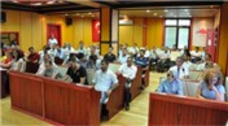 Cem Kara Çatalca'da müteahhit, mimar ve mühendislere toplantı yaptı!