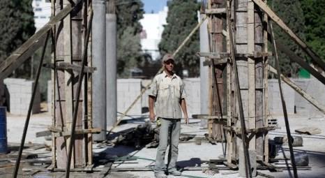 Filistin Gazze'de inşaat sektörü durdu!