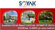 Avea'dan Soyak Optimus ve Siesta projelerinde 14 bin TL'ye varan indirim!