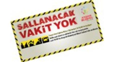 Ataşehir Belediyesi Sallanacak Vakit Yok eğitimlerine başlıyor!