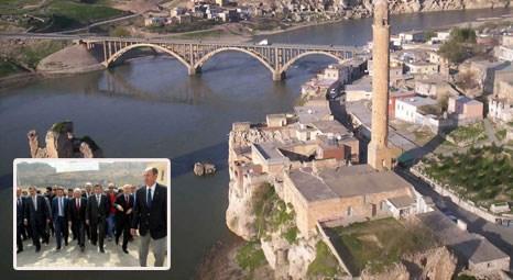 Batman Hasankeyf'te 4 bakanla 4 köprü ve viyadüğün temeli atıldı!