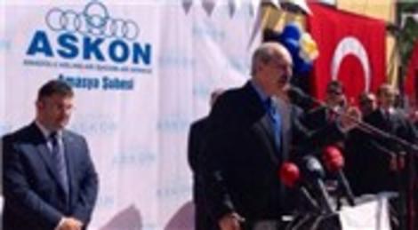ASKON'un Amasya Şubesi Numan Kurtulmuş'un katılımıyla açıldı!