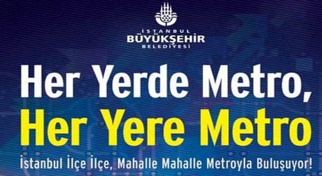 İstanbul yeni metro projeleriyle ray kent olacak!