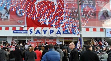 Şaypa, Bursa Altınşehir şubesi ile 59'uncu mağazaya ulaştı!