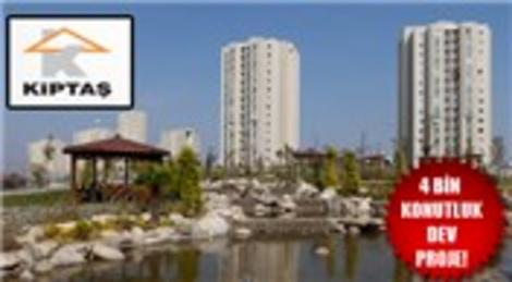 Kiptaş'tan İstanbul'a yeni bir kent! Vaditepe Bahçeşehir!