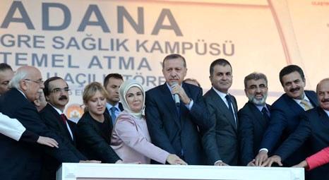 Recep Tayyip Erdoğan Adana'da! Bahçe-Nurdağı arasına demir yolu tüneli yapılacak!
