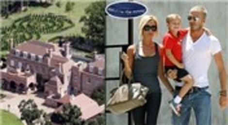 Victoria-David Beckham çiftinin Beckingham Sarayı 12 milyon sterline satıldı!