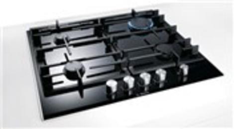 Bosch Ankastre Gazlı Ocakta yemekler güvenle hazırlanıyor!