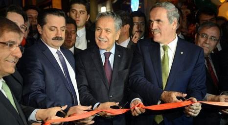Bülent Arınç Ankara'daki Bursa Evi'ni hizmete açtı!