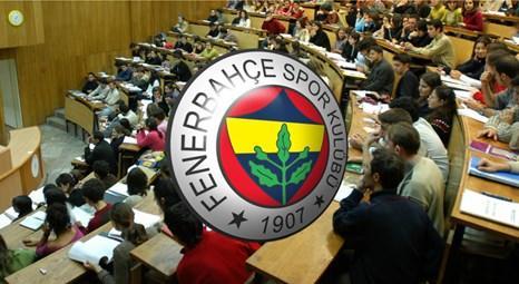 Fenerbahçe Üniversitesi için düğmeye basıldı!