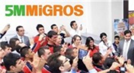 Migros 1000'inci mağazasını hizmete açtı!