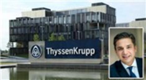 ThyssenKrupp Türkiye'de Çetin Nazikkol 1 Kasım'da Türkiye CEO'su oluyor