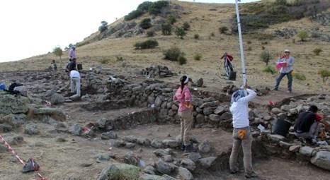 Pteria Antik Kenti'nin surları ortaya çıkıyor