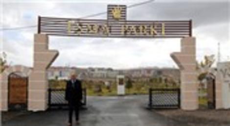 Erzurum Yakutiye'deki Esma Parkı törenle hizmete açıldı
