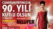 Nilüfer, 29 Ekim'de Ataşehir Özgürlük Parkı'ndan konser verecek