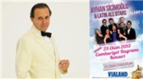 Vialand AVM'de Ayhan Sicimoğlu 29 Ekim'de konser verecek