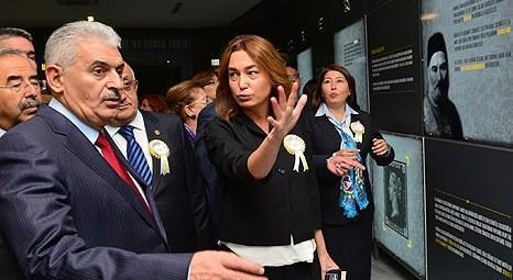 PTT Pul Müzesi Binali Yıldırım'ın katılımıyla açıldı