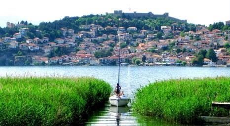 Makedonya'nın Ohri kenti, mimari yapısıyla Safranbolu'ya benziyor