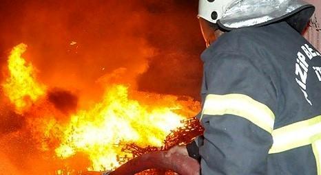 Adana'da tekstil fabrikasında yangın çıktı