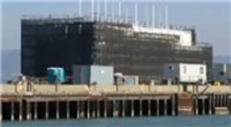 Google San Francisco'da esrarengiz bir bina inşa ediyor