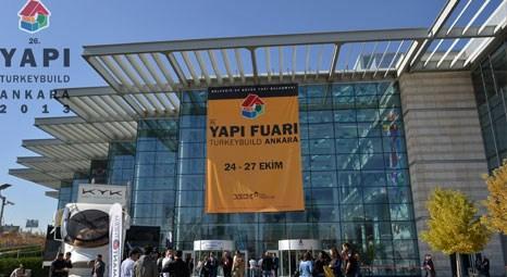 26. Yapı Fuarı Turkeybuild Ankara'yı 26 bin 758 kişi ziyaret etti