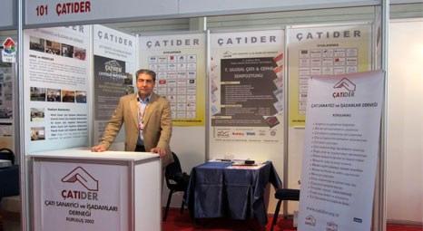 ÇATIDER, İzmir ve Ankara Yapı Fuarlarına katıldı