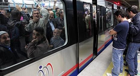 Yolcular, Marmaray'dan inmek istemiyor