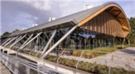 WWF'nin yeni binası tamamen geri dönüştürülmüş malzemeden yapıldı